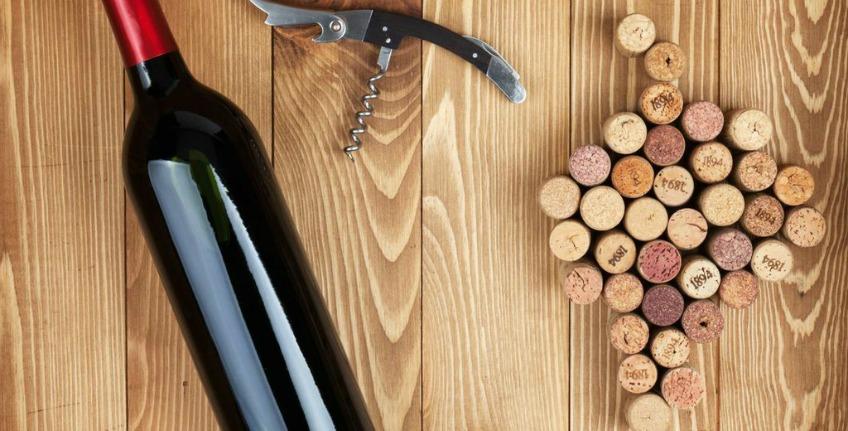 La bottiglia di vino